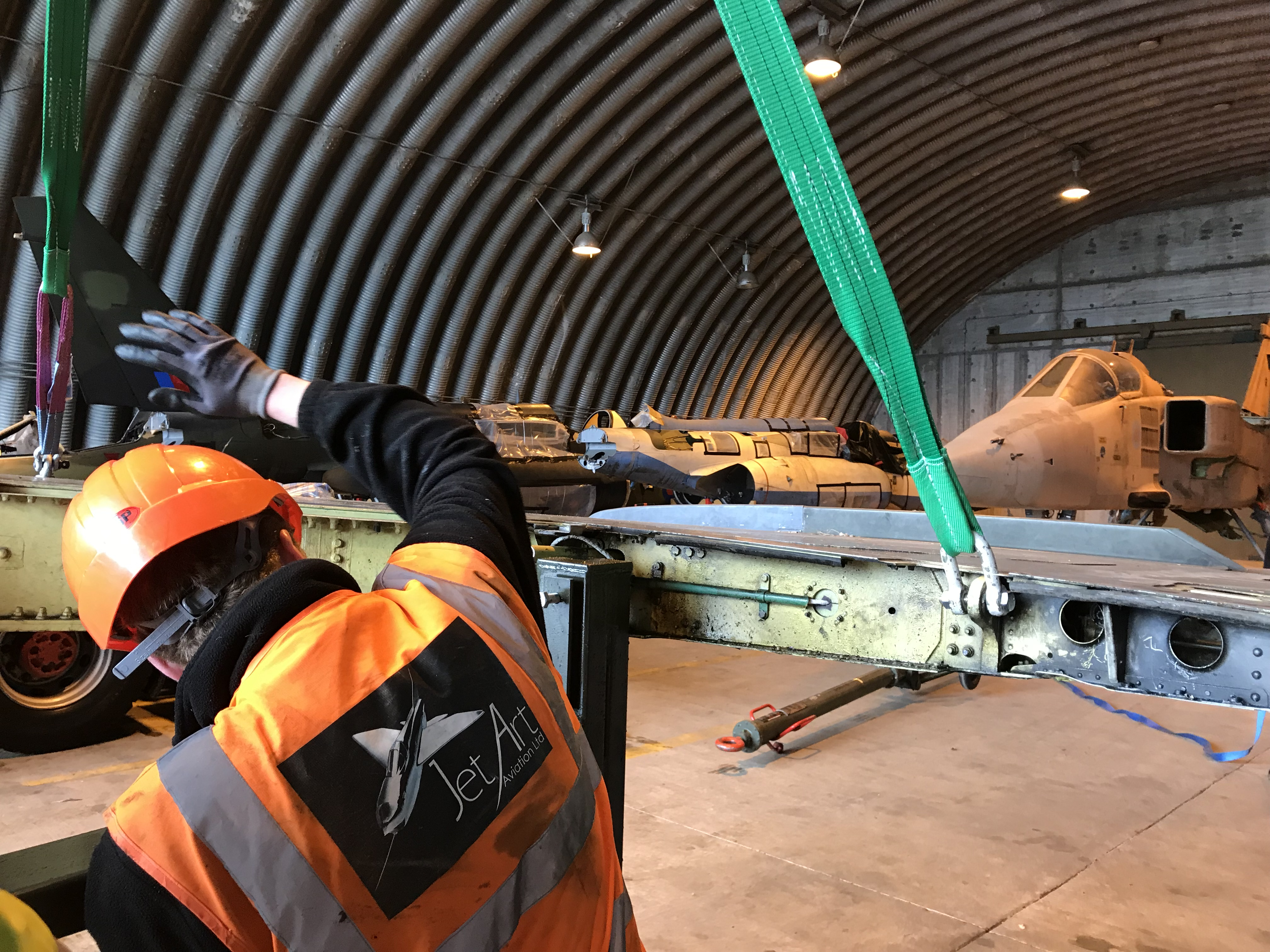Jaguar Wing Removal