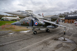 Harrier XV741 with Concorde