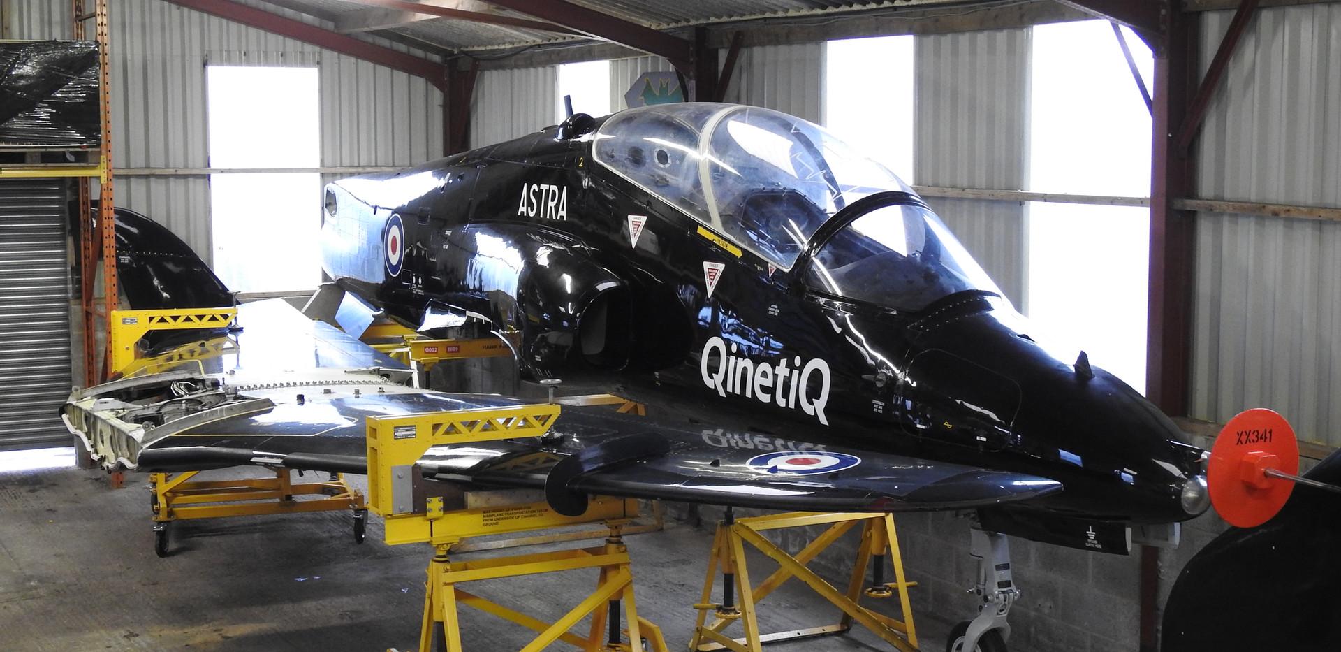 BAe Astra Hawk XX341 4.JPG