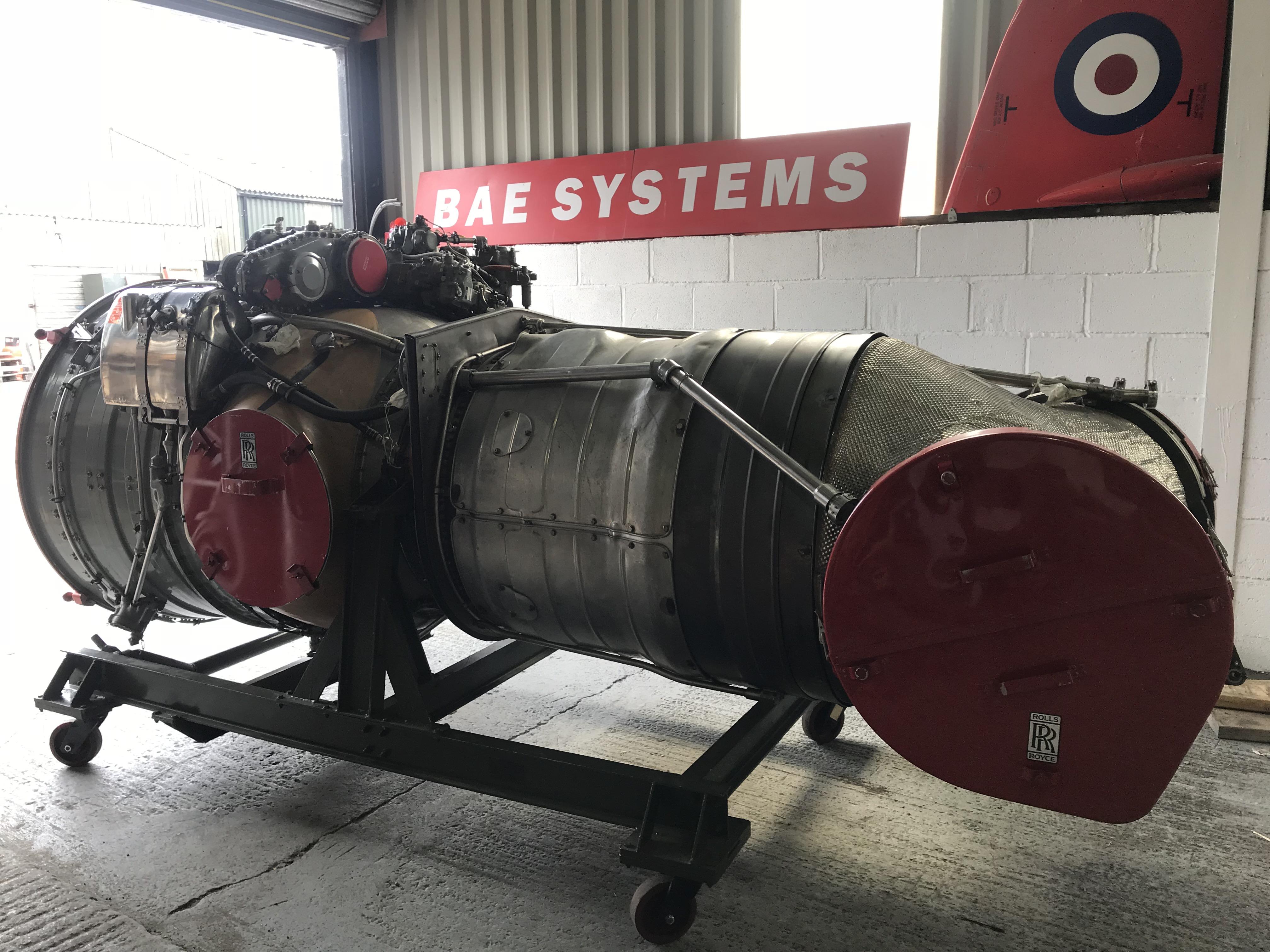 Rolls Royce Pegasus engine