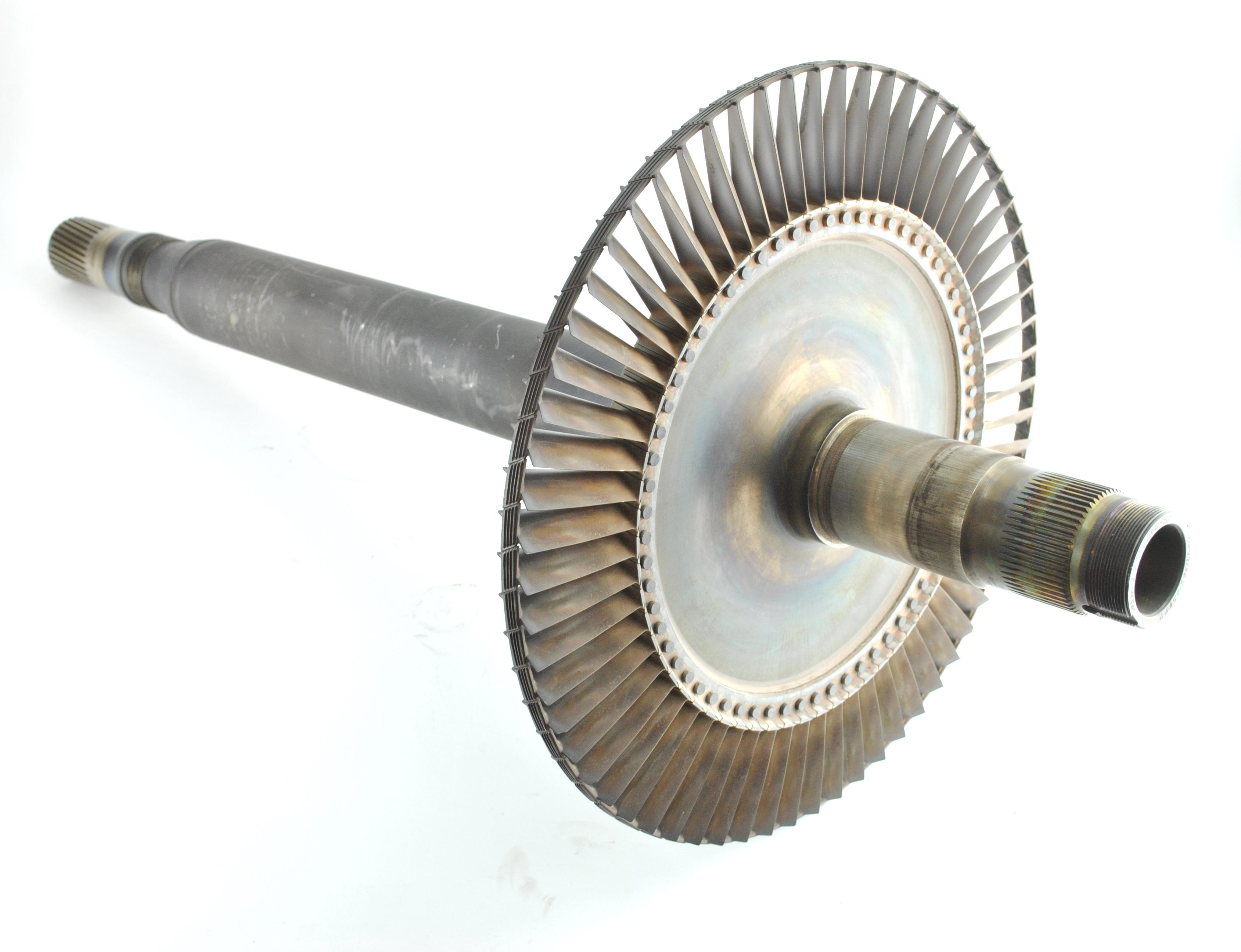 turbine jet engine shaft