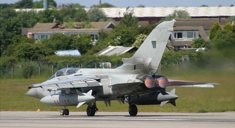 In service image of ZD899 at Warton June 2003 by Ian Nightingale
