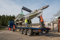 Air Race Harrier Loaded