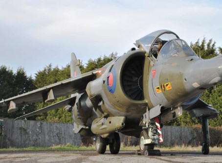 """Back at Jet Art! """"Time Capsule Condition"""" Harrier GR3 XZ132 Jump Jet For Sale"""