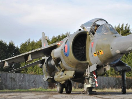 "Back at Jet Art! ""Time Capsule Condition"" Harrier GR3 XZ132 Jump Jet For Sale"