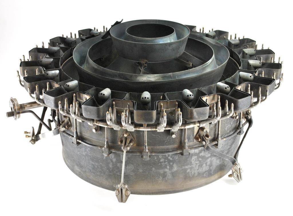 RB199 afterburner fuel nozzle