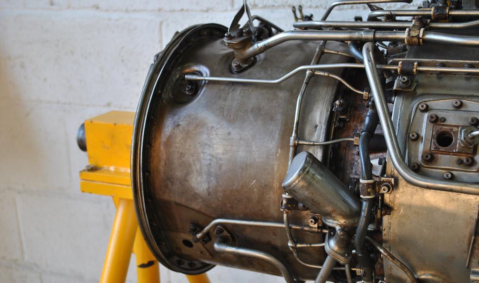 Rolls Royce Gem Engine in Stand (1).JPG