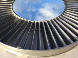 Rolls Royce Adour engine vane mirror