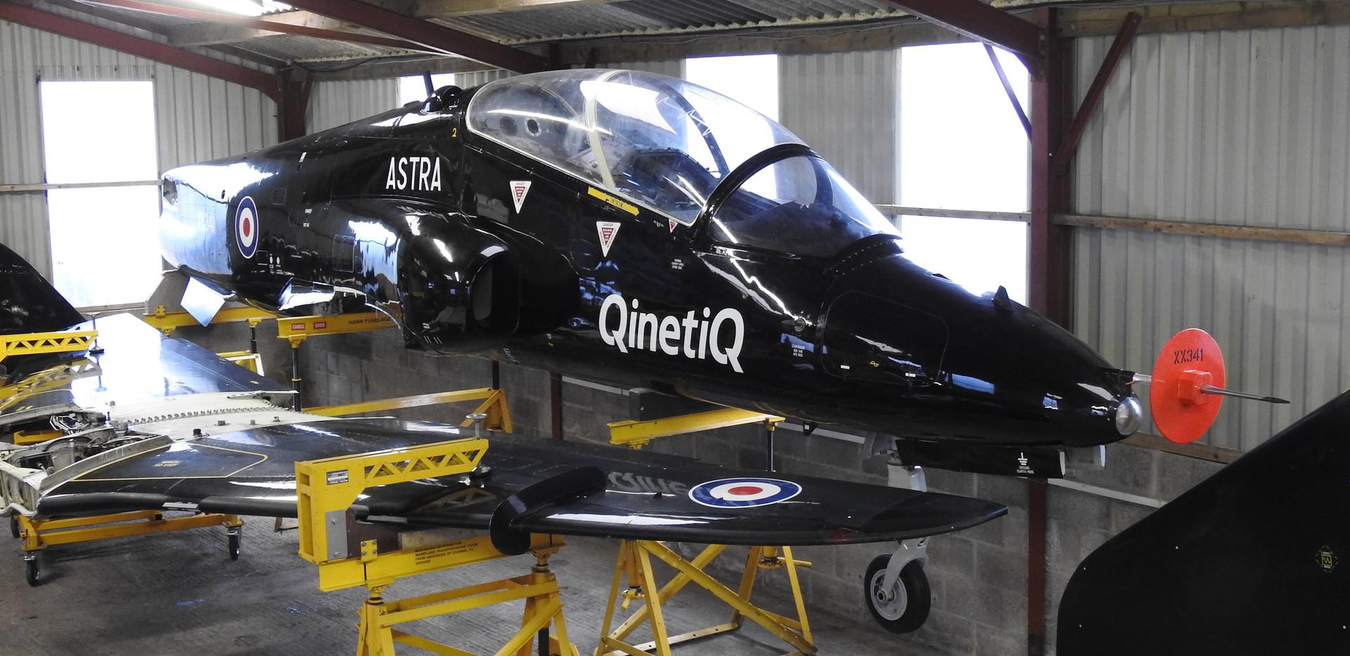 BAe Astra Hawk XX341 9.JPG
