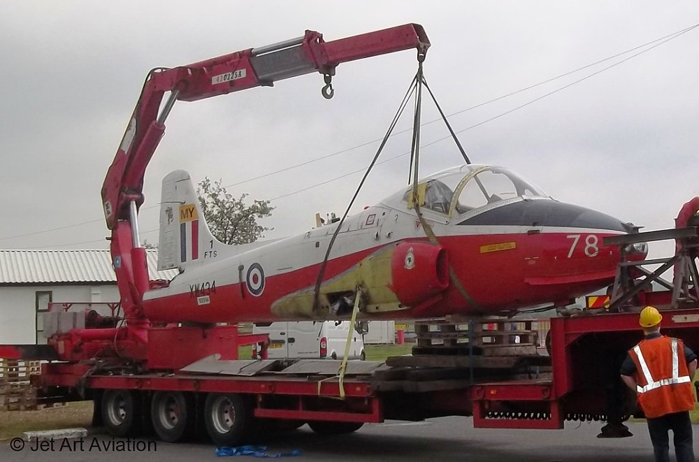 jet-provost-xw434-arrival-at-wolverhampton-airport-2