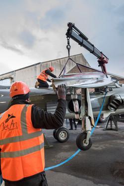 Harrier delivery Brooklands mus