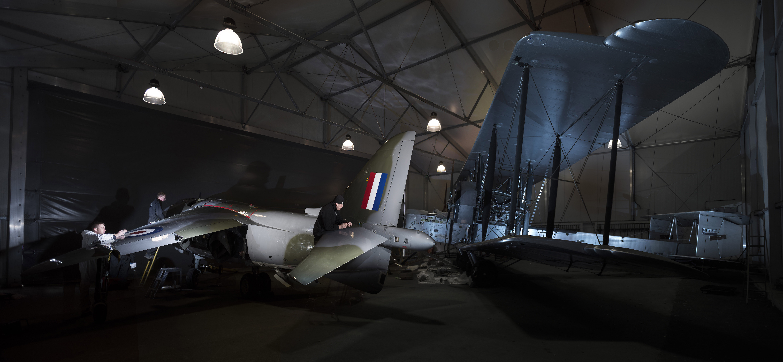 Harrier XV741 deliver Brooklands muse