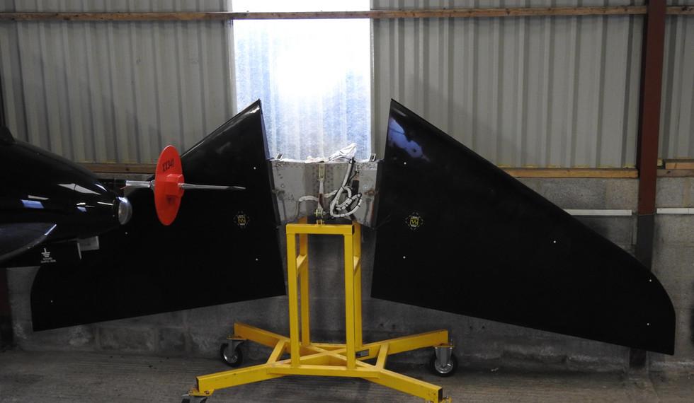 BAe Astra Hawk XX341 Tail Plane.JPG