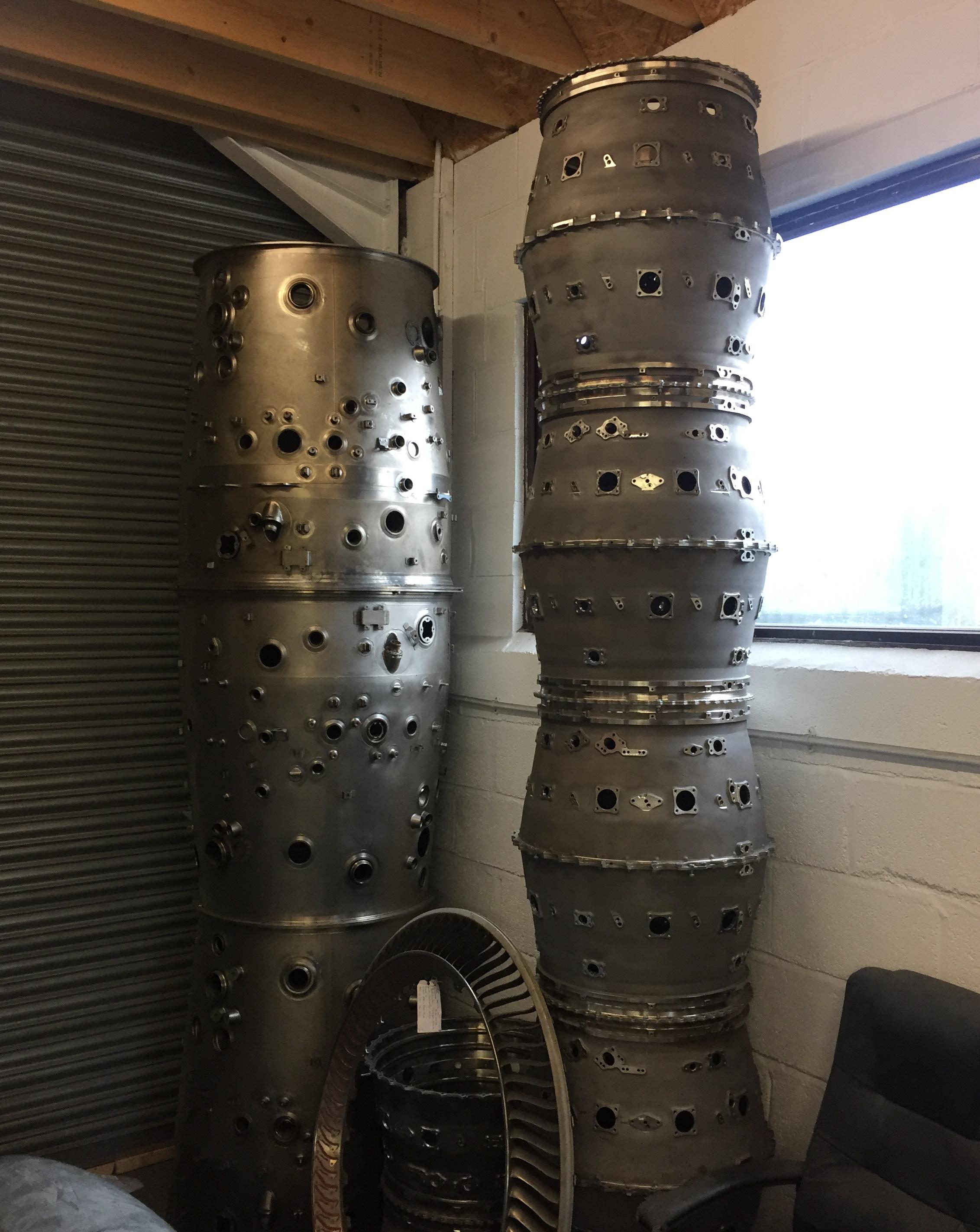 Sci Fi jet engine case