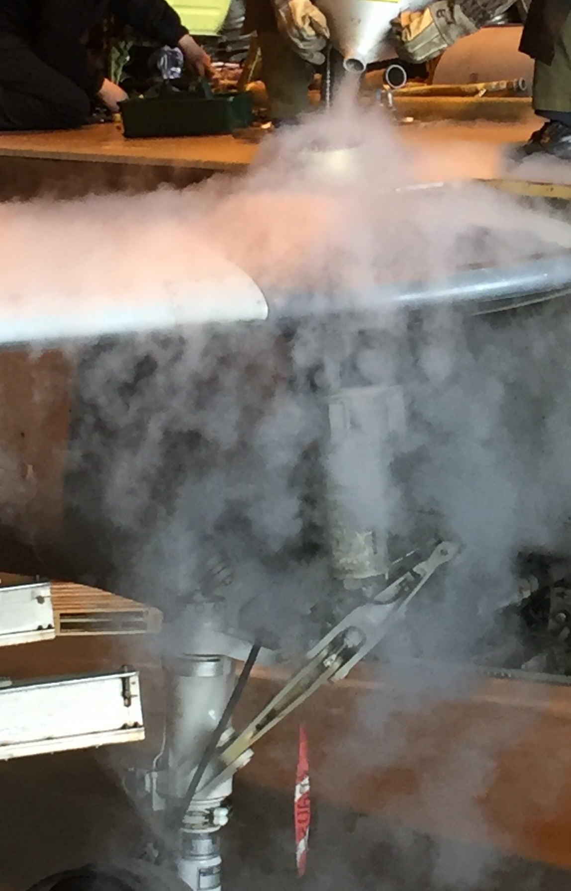 Tornado Wing Pin extraction