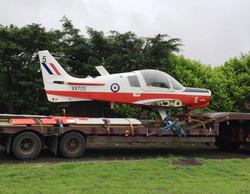 Bulldog aircraft move