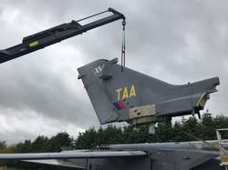 Tornado GR1 dismantle job