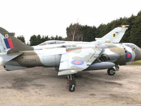 Harrier GR3 XZ994 restoration complete and exported to Estonian National Aviation Museum
