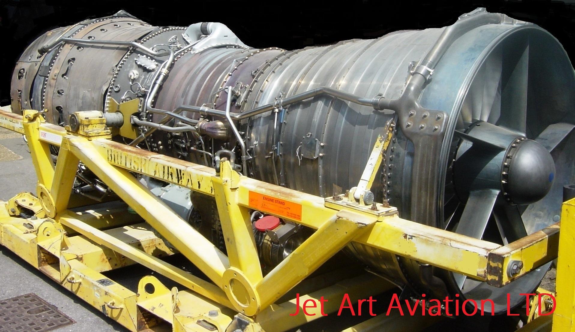 Concorde Olympus 593 Engine