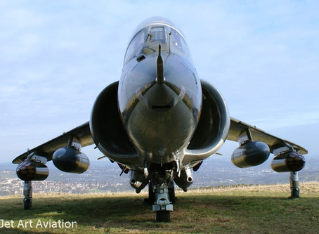 Harrier XW269 seeks nice new home, museum preferable