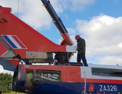 ZA326 Tornado fin fit