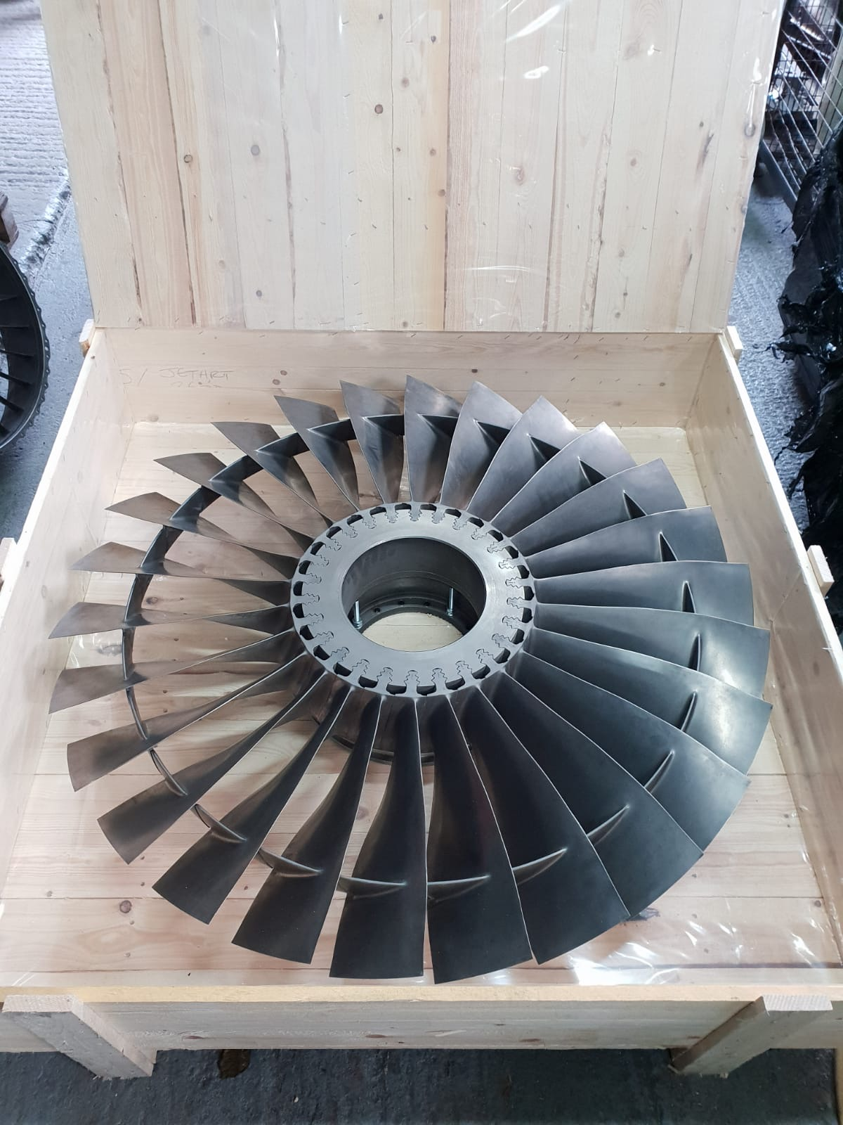 Pegasus LP1 Jet Engine Fan