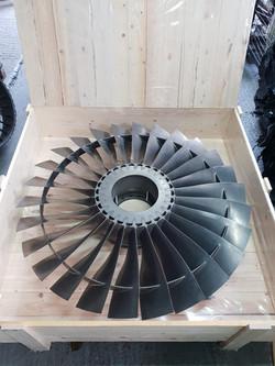 Pegasus LP1 Jet Engine Fan
