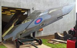 Jaguar Wing Extrcation RAF college