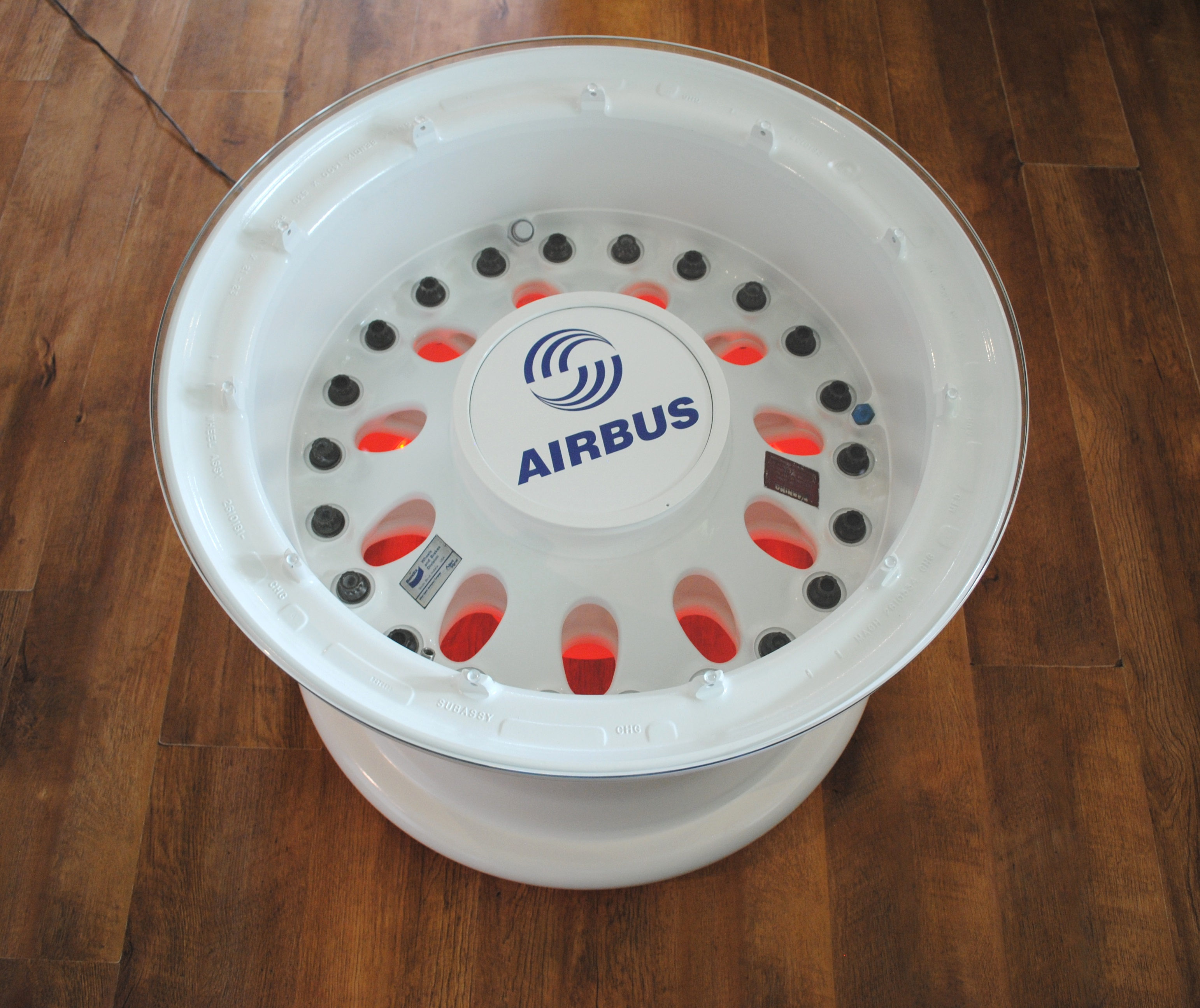 Airbus Wheel Coffee Table