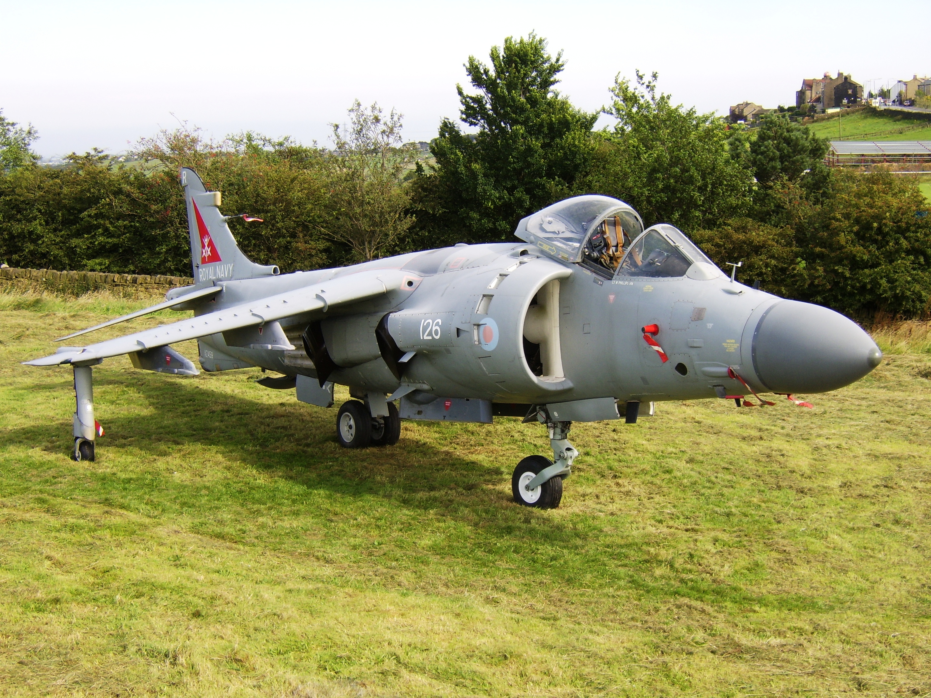 Sea harrier XZ459 (2)