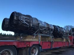 RB199 engines load