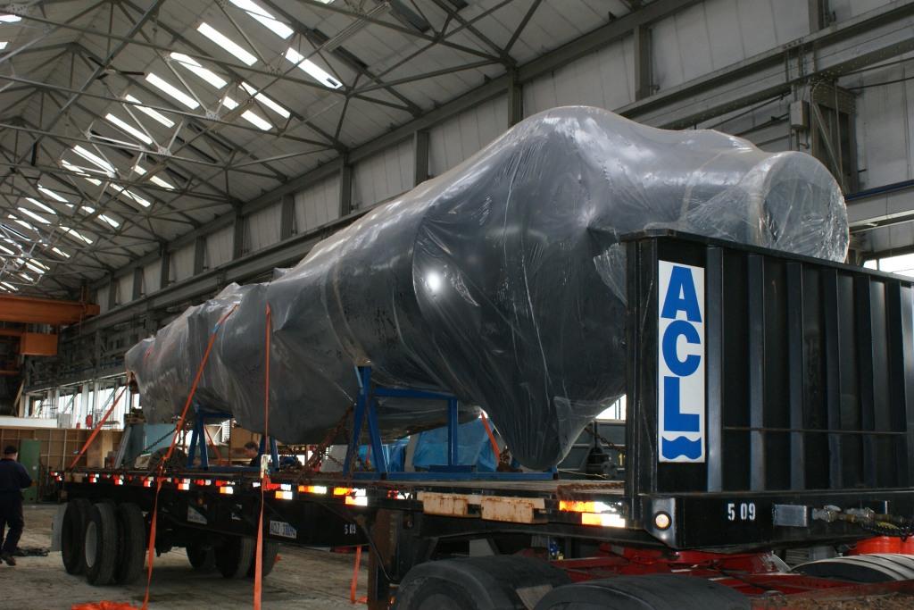 Sea Harrier Fuselage Shipping