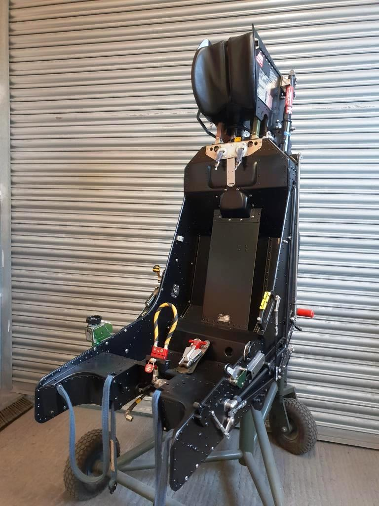 Ejection seat rebuilt restored (2)
