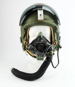 Cold War Era Fast Jet Pilot Flying Helme