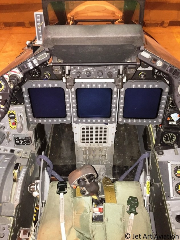Tornado F2A ZD902 cockpit