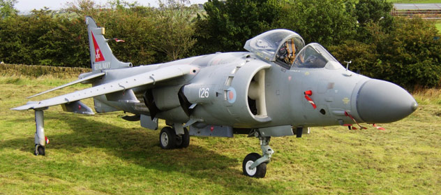 BAe Sea Harrier FA2 XZ459