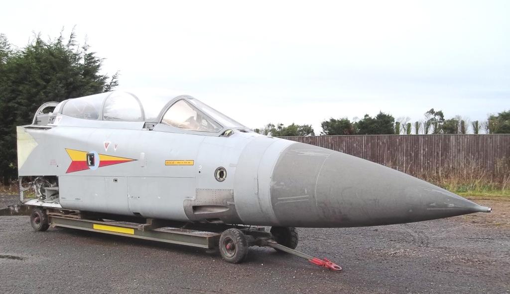 Tornado F2 ADV Cockpit