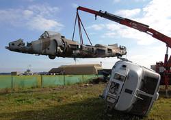 Harrier T4 extraction Yeovilton Fir