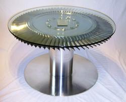 Orpheus Jet engine Turbine coffee table