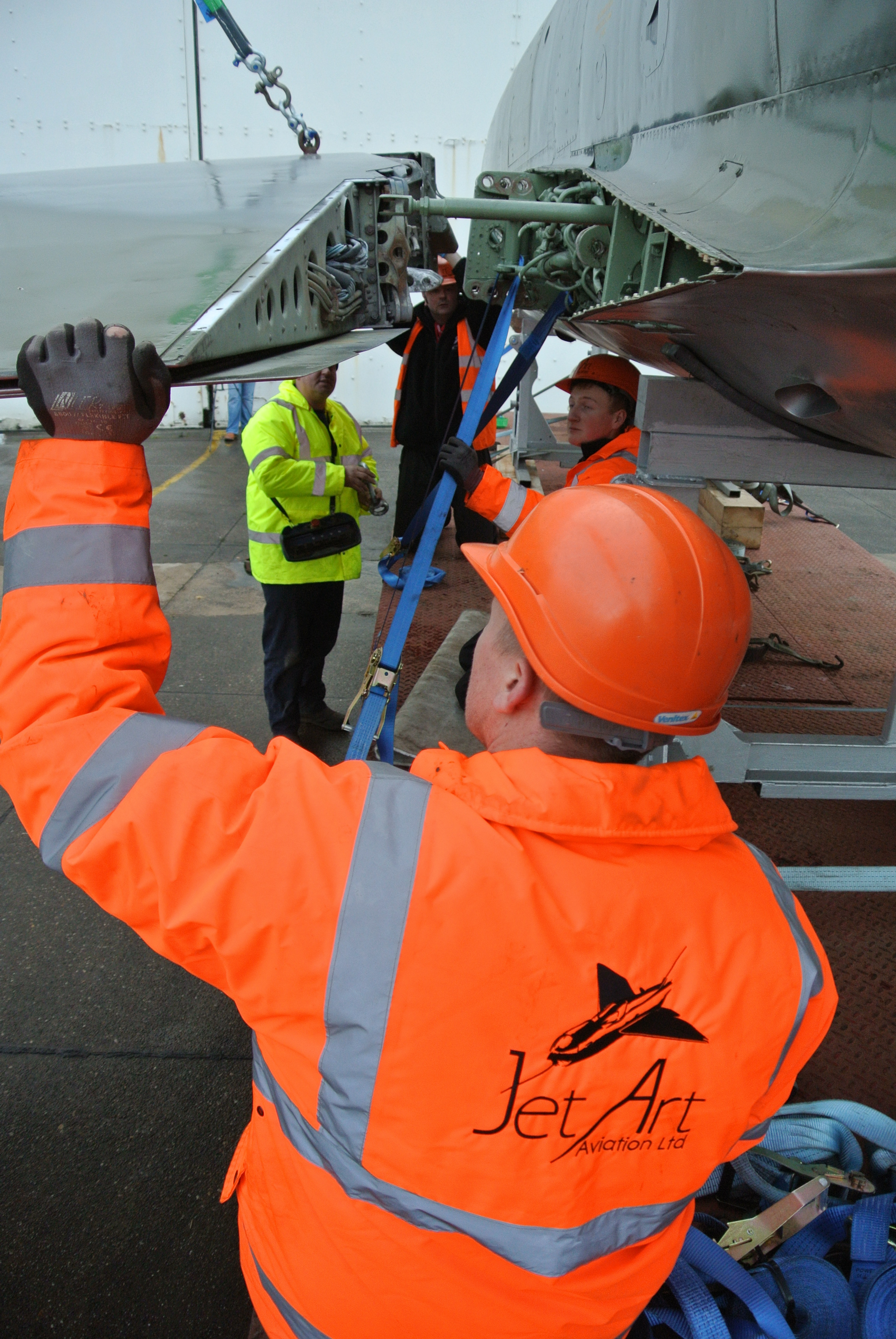 Supermarine Swift assembly