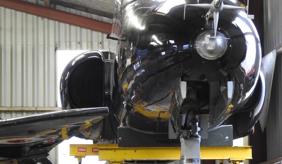 BAe Astra Hawk XX341 10.JPG