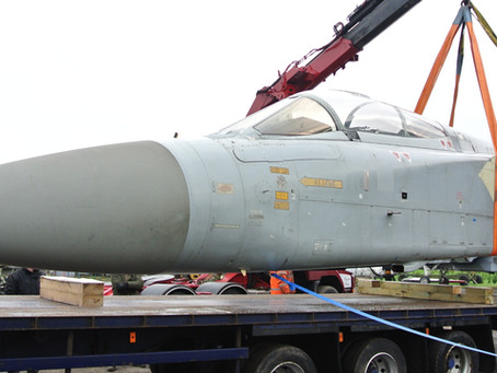 Tornado F2 ZD899 Arrives at Jet Art