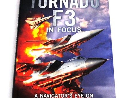 Tornado F3 book featuring our restored ZE256!