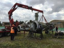 Harrier extraction Yeovilton