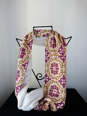 Collar scarf Tile Passion Beige