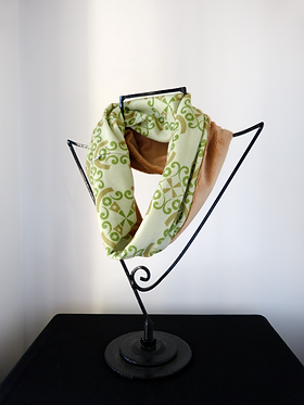 Collar scarf Same Passion Green