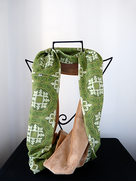 Collar scarf Tile Passion Green