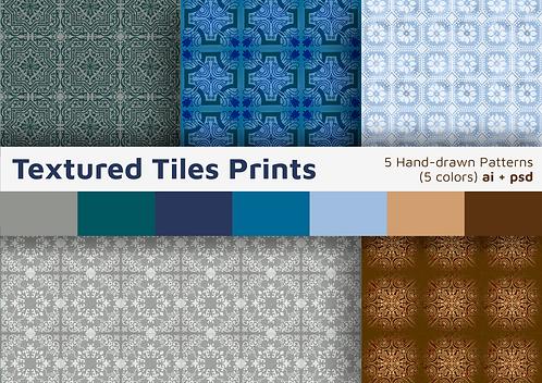 Textured Tiles - 5 Patterns