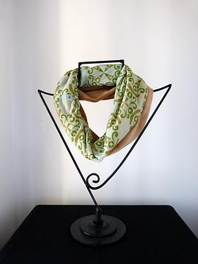 Collar scarf Same Passion Green