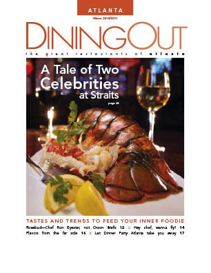 DiningOut Magazine Cover
